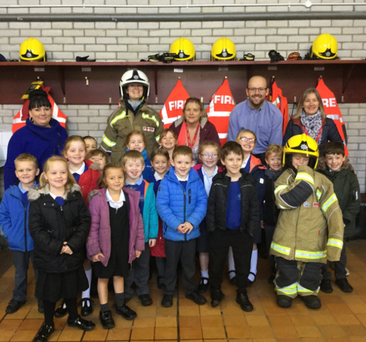 We had lots of fun at the fire station!