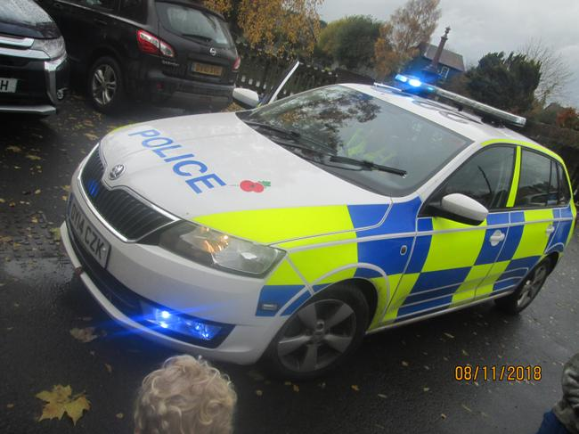 We enjoyed a visit from our local police.
