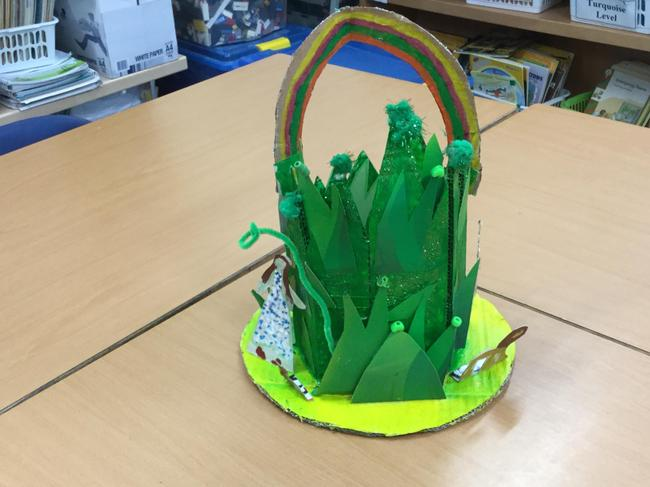 The winning hat - The Wizard of Oz