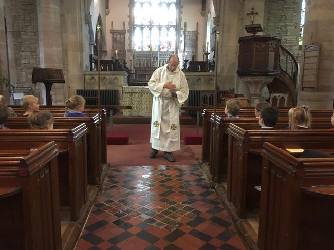 Rev Mike said prayers.