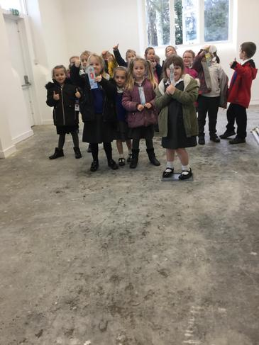 We visited the Old School Room too