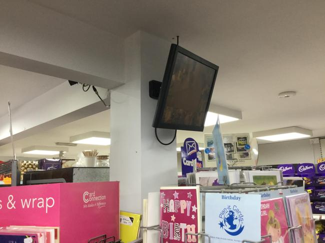 The video from the CCTV can be watched on a screen
