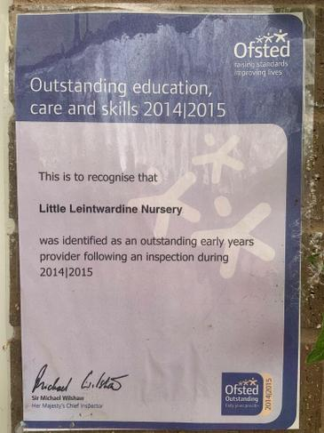 Nursery Ofsted Certificate