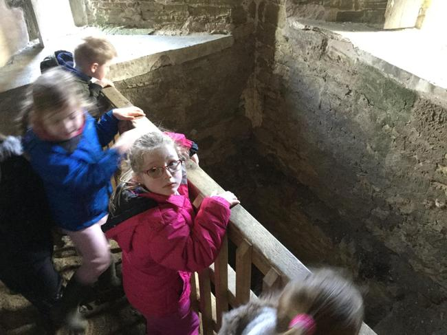 Looking down the well...