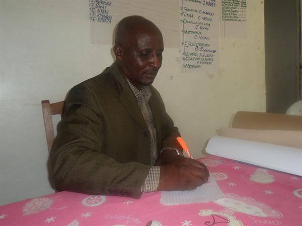Mr Samwel Pallangyo, the Headteacher