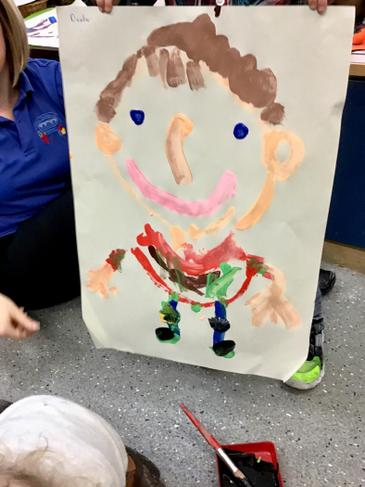 Creating representations of ourselves.