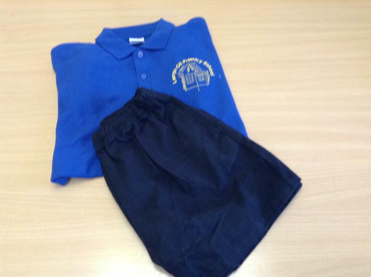 PE Polo Shirt and Shorts