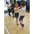 We learnt a partner dance from the early 1900s.