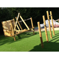 Look at our fantastic new climbing frame