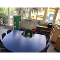 Our phonics and writing area