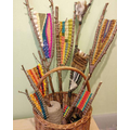 Colourful weaving