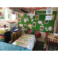 Our create area. What will you put in our Gallery?