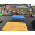 Water play outdoors