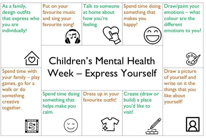 Mental Health Week 1st Feb
