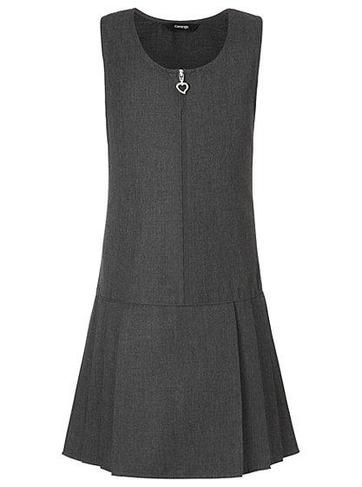 Grey or black pinafore
