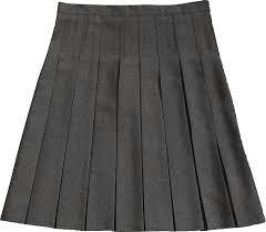 Grey or black skirt