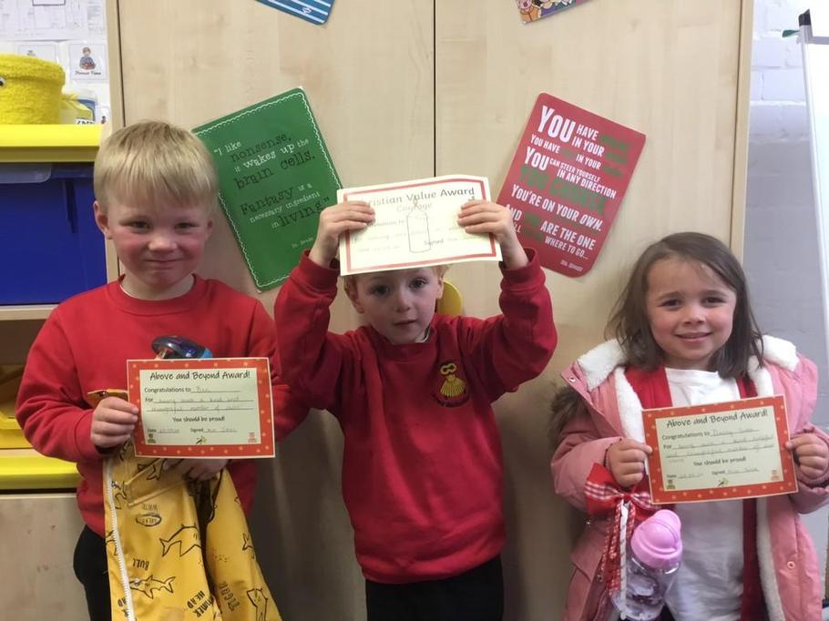 Congratulations to Ben, Yann and Darcy-Sian!