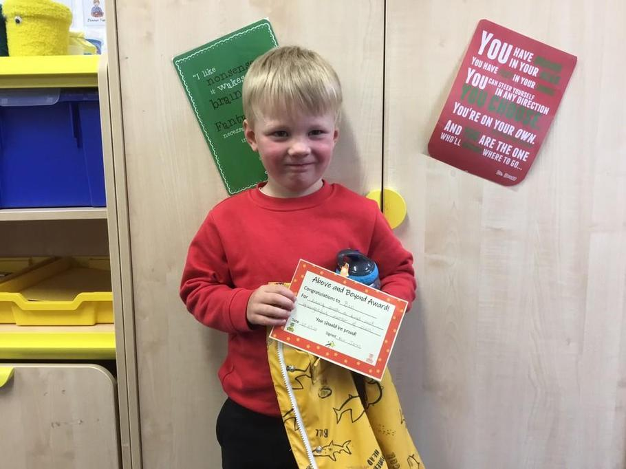 Well done Ben for being such a kind, caring friend!