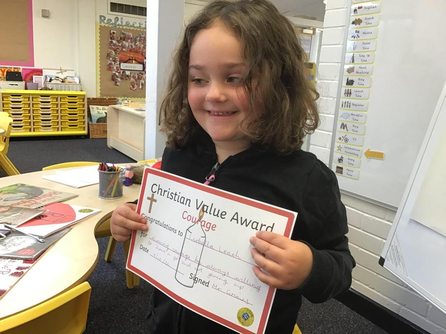 "09.10.20 - Well done Bella for showing courage in her willingness to ""have a go!"""