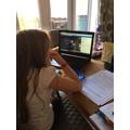 Lauren getting a virtual tour of a WW2 bunker