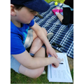 Science in the sun for Ewan
