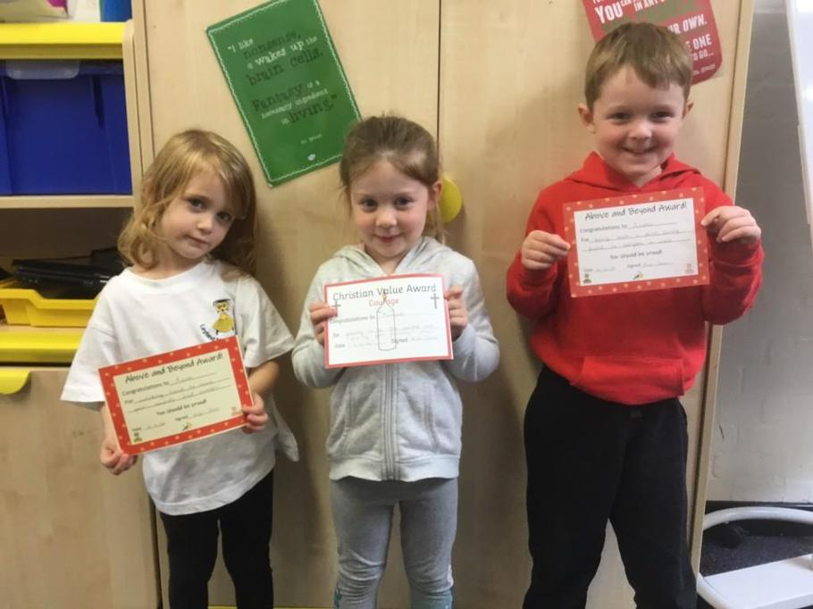 Congratulations this week to Azra, Nessa and Archie!