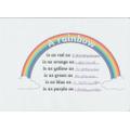 Mia's rainbow simile poem.