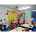 3S acting out their fairy tale play scripts.