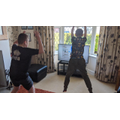 The Smiths doing a Body Coach workout
