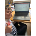 Jack creating a fantastic Ancient Egypt powerpoint