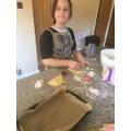 Heather baking