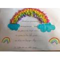 Sophie's beautiful rainbow simile poem.