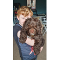 Jacob and his dog, Wilbur
