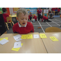 numberbonds to 5 using snails!