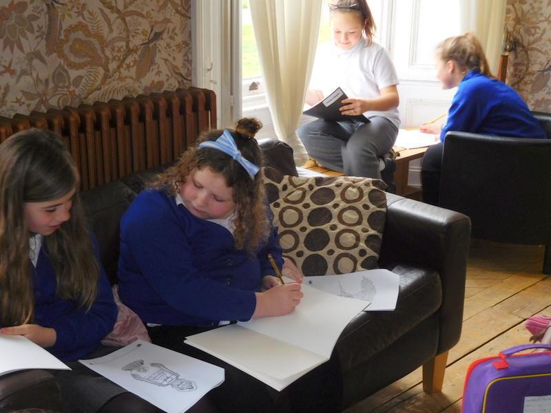 We did drawings