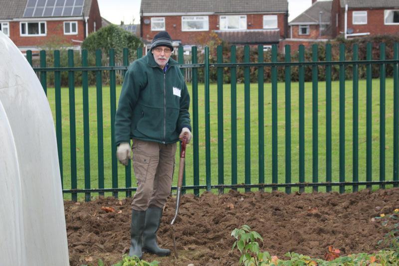 Our WW2 garden was dug over