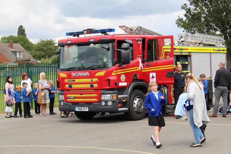 Humberside Fire and Rescue supported us