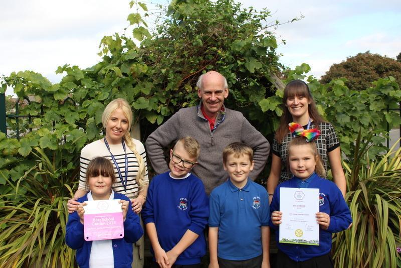 The best school garden in the six counties!