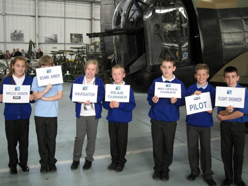 The jobs of the Lancaster crew