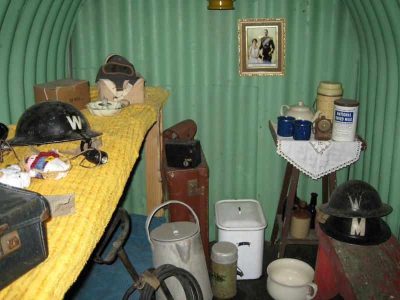 Thorpe Camp: air raid shelter