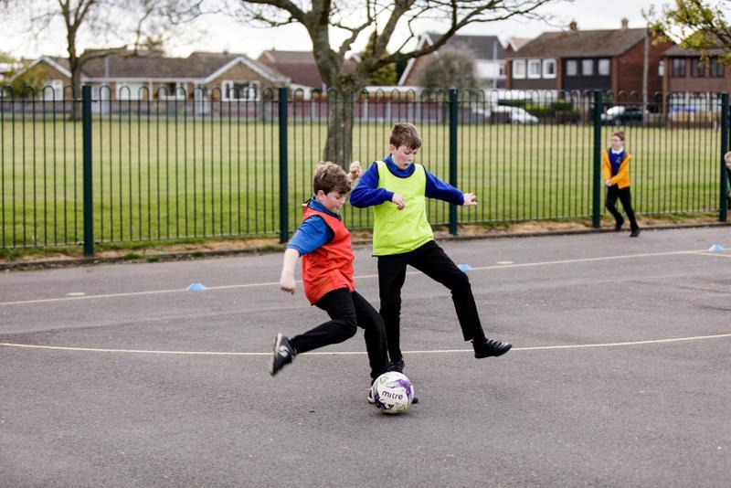 Football in the Community fitness at 8.30am