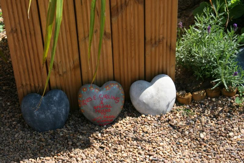 We have some stones to remember special people