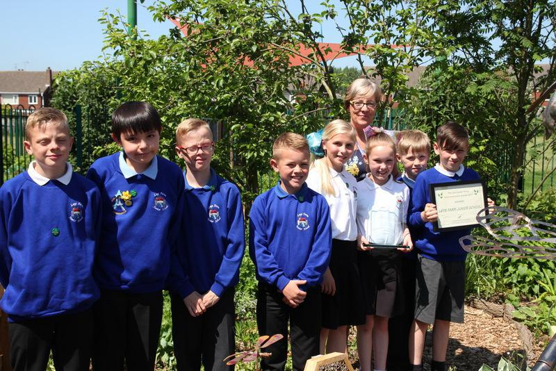 This is awarded by the Lincolnshire Wildlife Trust