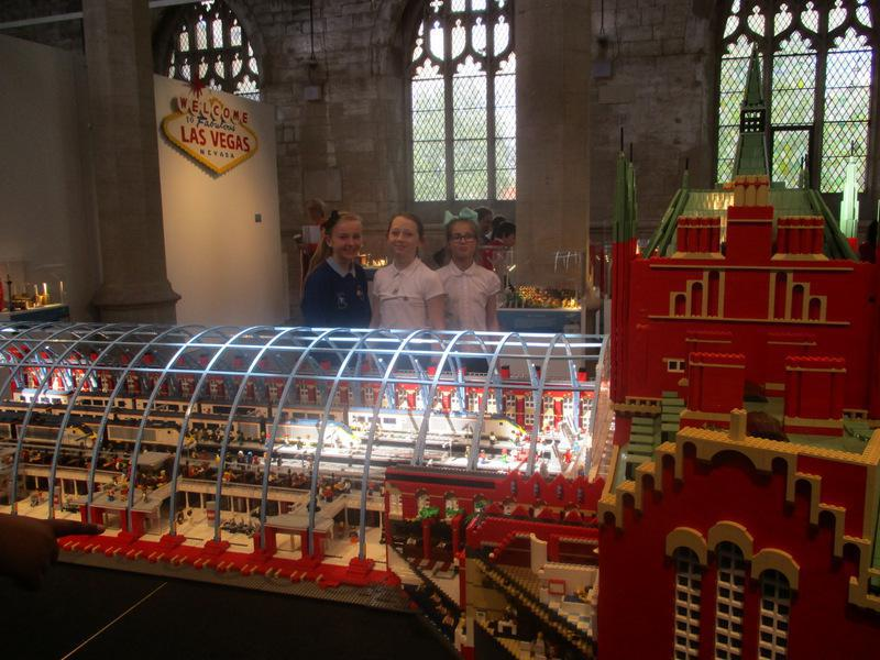 The fabulous Block City Lego exhibition there
