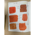 Creating a colour range with recipes.