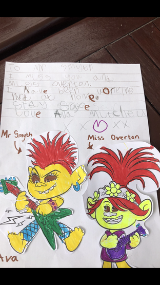 Beautiful writing Ava, well done!