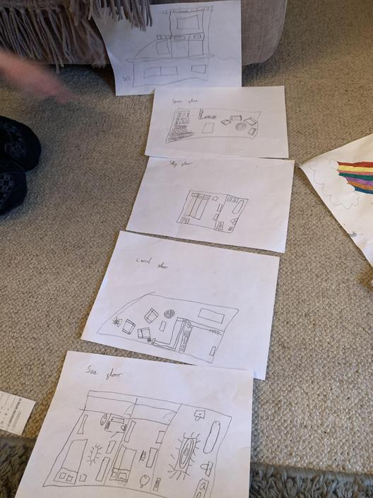 Floor Plans - by Berrin