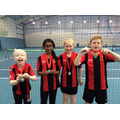 1st place for our Year 4 Tennis Team 1 April 2019