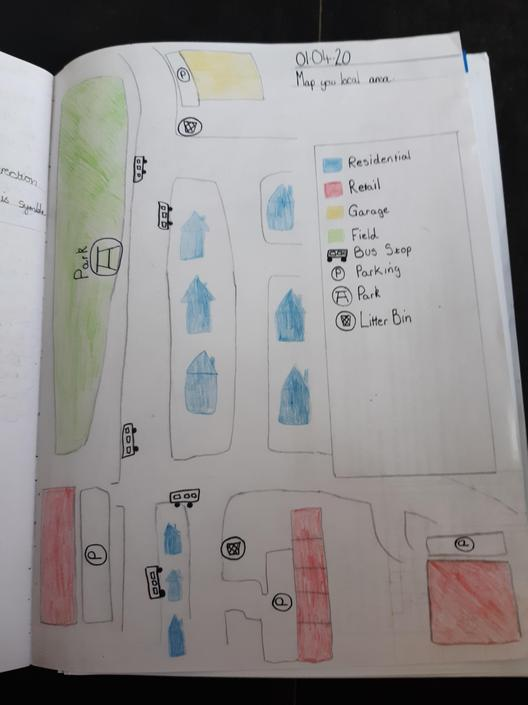 A local area map by Liam