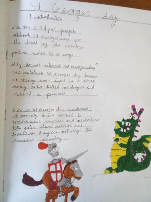 St. George's Day by Poppy